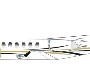 New Paint Scheme 1980 Citation II 550-0382, N852HA 33017